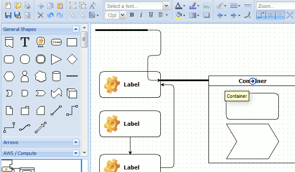5 best free alternatives to microsoft visio Free open source flowchart software