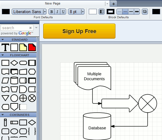 7 of the best free alternatives to microsoft visio make Free open source flowchart software