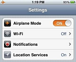 AirplaneMode-iPhone