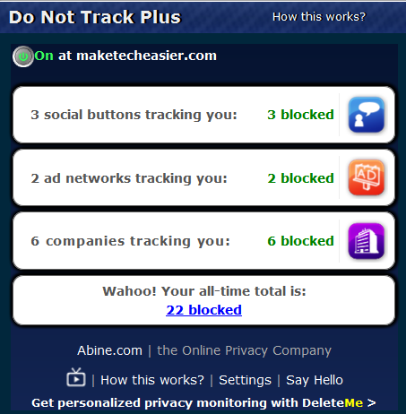 Do-Not-Track-Plus