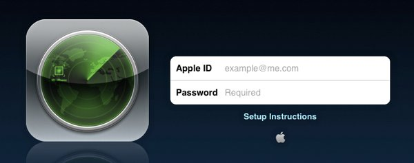 Find My Iphone As A Native Ios App