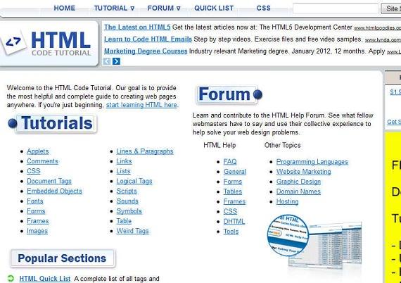 HTML-Code-Tutorial