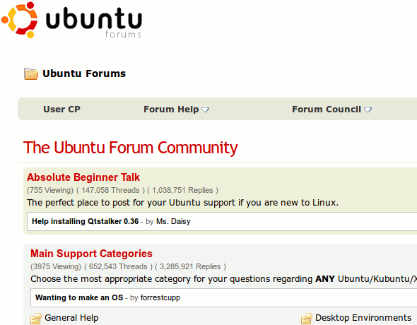 LinuxGreat-Forums