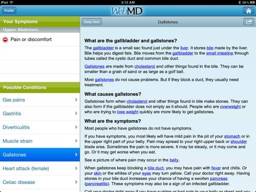WebMD-PossibleConditions
