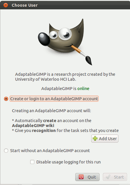adaptablegimp-login