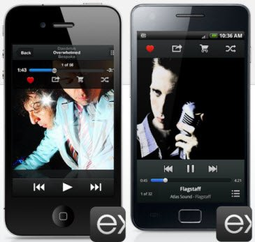 exfm-android-iphone-app