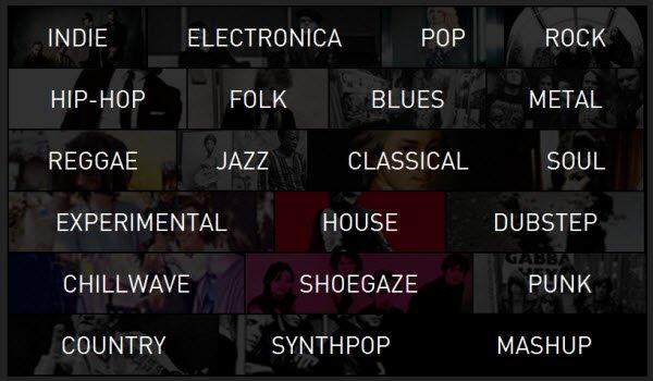 exfm-genres