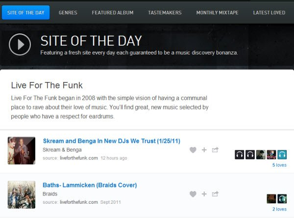 exfm-site-of-the-day