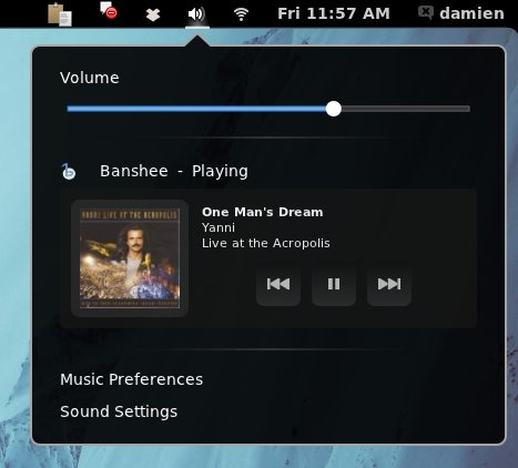 gnome-extension-music-integration