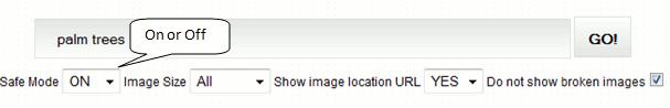 google-image-safe-mode