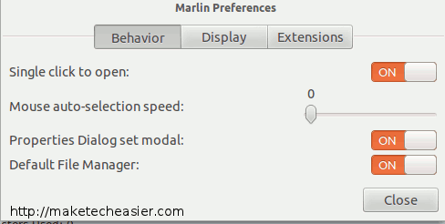 marlin-behavior-config
