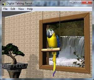 screensavers-parrot