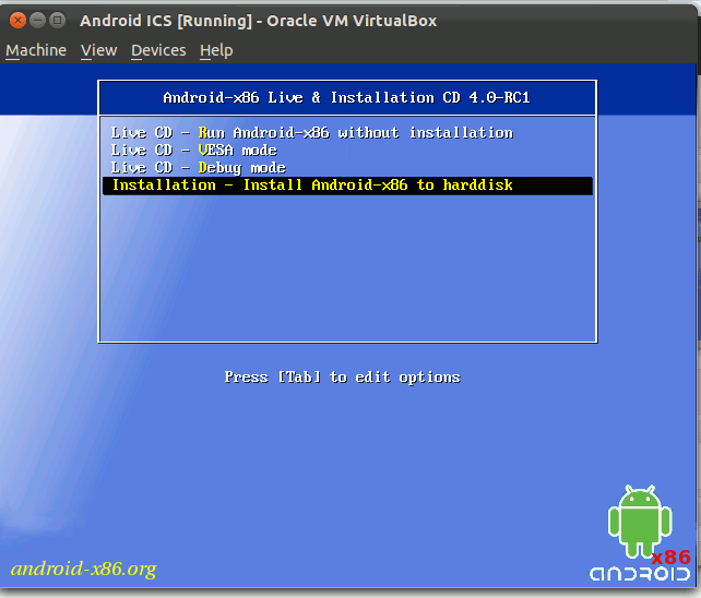 androidx86-boot-up