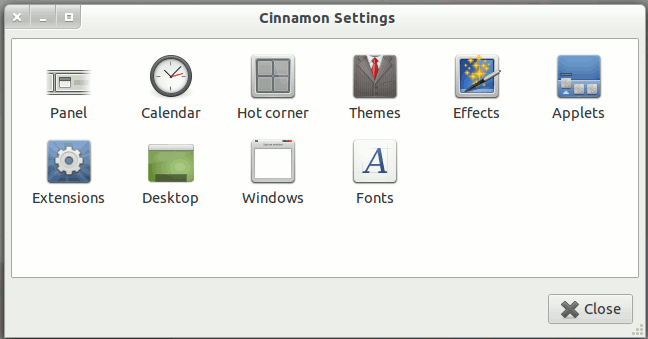 cinnamon-settings