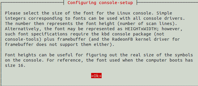 How to Change Your Console Fonts In Ubuntu [Geeks Trick]