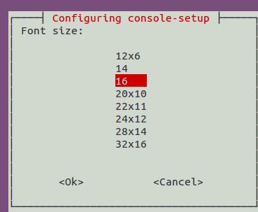 consolesetup-set-font-size