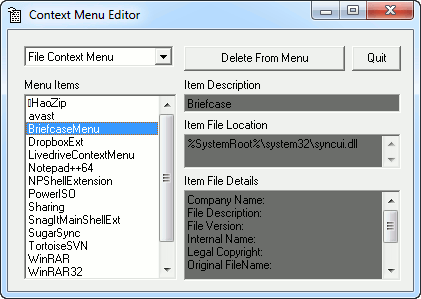 context-menu-editor