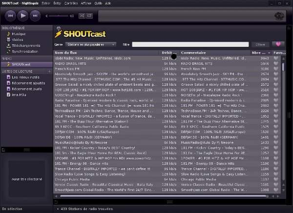 nightingale-shoutcast