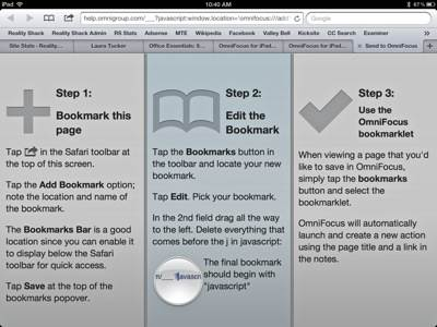 OmniFocus-Bookmark