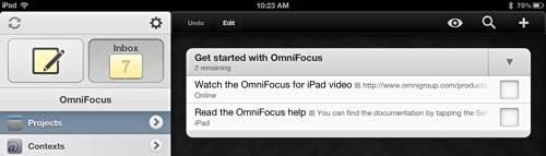 OmniFocus-Started