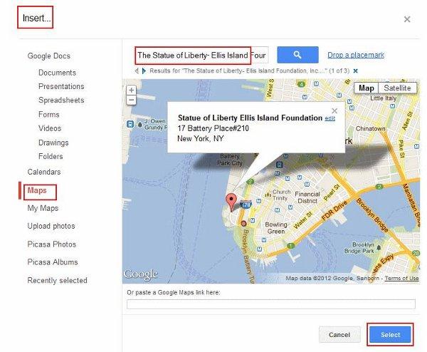 Tabs-add-map