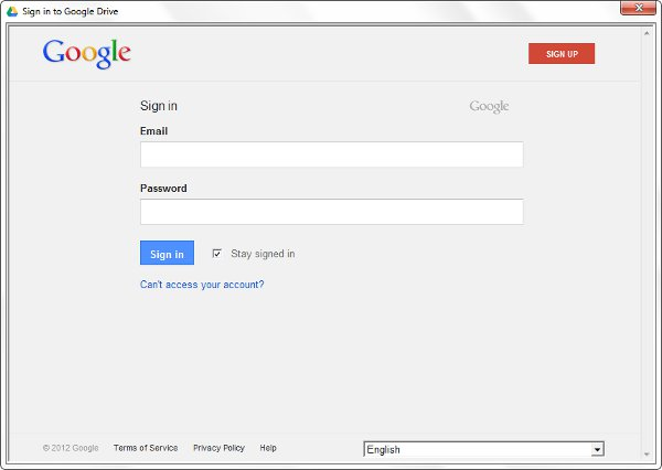 google-drive-desktop-application-login