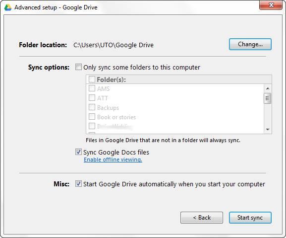 google-drive-select-folders