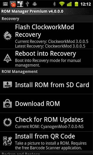 rom-manager