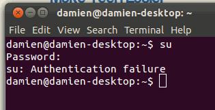 sudo-authentication-failure