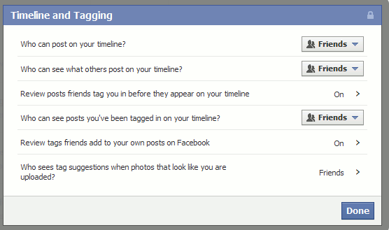 Facebook-security-tagging