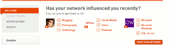 Klout-influencers