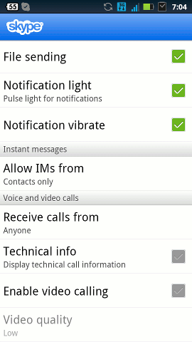 android-questions-skype-video-chat