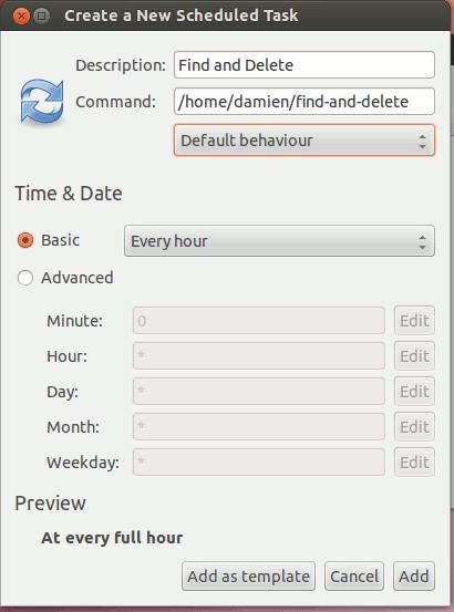 find-gnome-schedule
