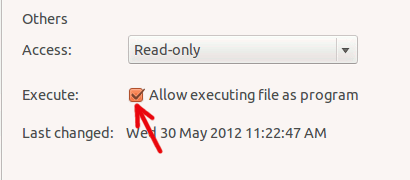 find-set-file-permission