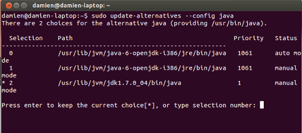 java-update-alternative