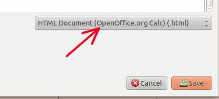 spreadsheet2html-save-as-html