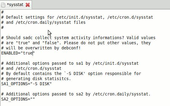 sysstat-enable-logging