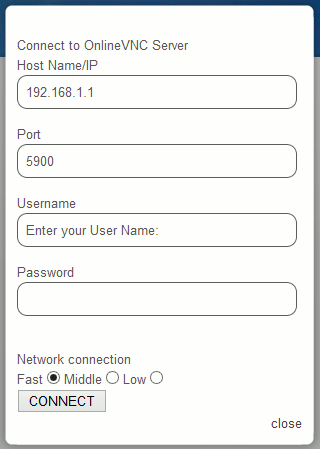 OnlineVNC Viewer