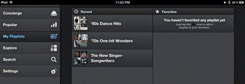 Songza-Playlists