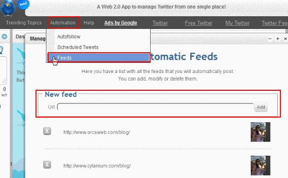 TweetPlace-Feeds