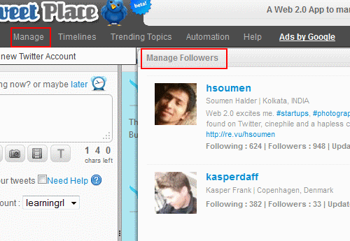 TweetPlace-manage-followers