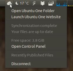 Ubuntu-Applet-Ubuntu-One