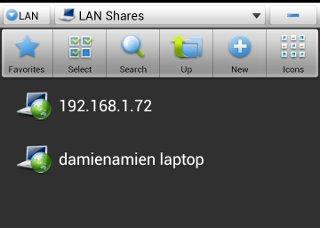 ES File Explorer Server List