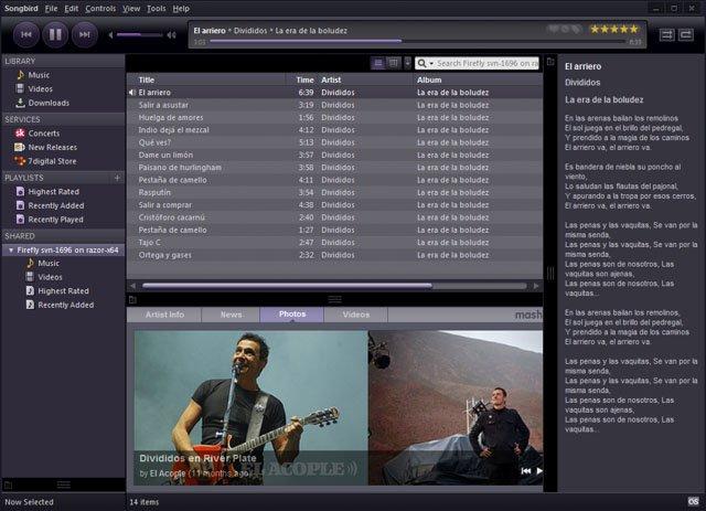 freeware-songbird