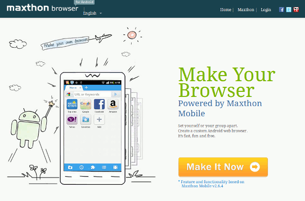 How to Create Your Own Mobile Browser Without Any Coding