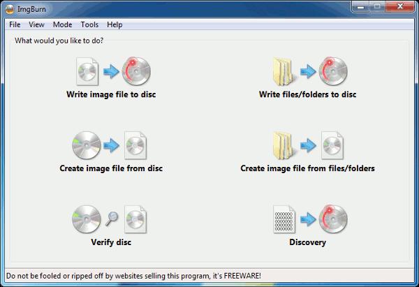 opensource-imgburn-interface