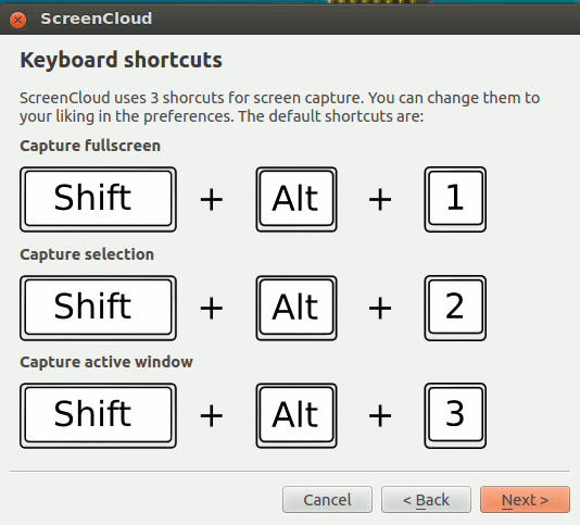 screencloud-shortcut-keys