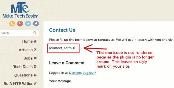 shortcode-not-rendered