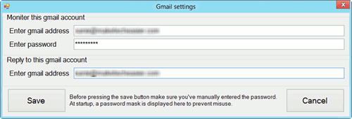 sremote-gmail-settings
