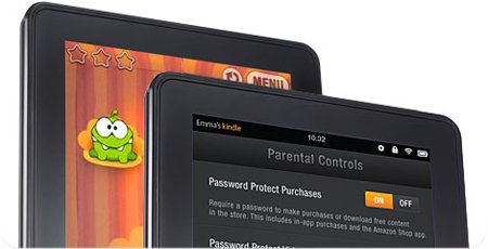 Kindle-parental-controls